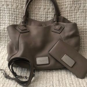 Marc Jacobs handbag with matching wallet